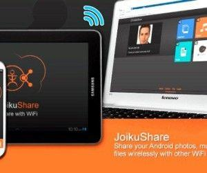 JoikuShare: Share Files From Android To Other Devices Over Wifi