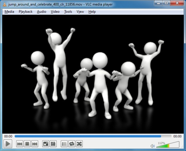 Jump Around And Celebrate Video Animation