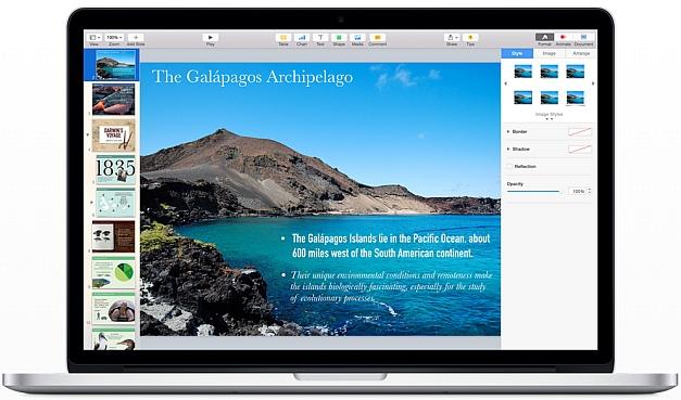 Keynote for Mac OS X