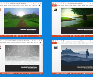 Landscape Video Animations For PowerPoint Presentations