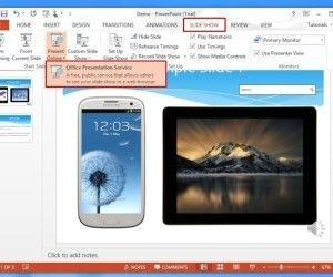 Present Live PowerPoint Presentations Online With Office Presentation Service