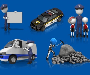 Law Enforcement & Police Clipart For PowerPoint Presentations
