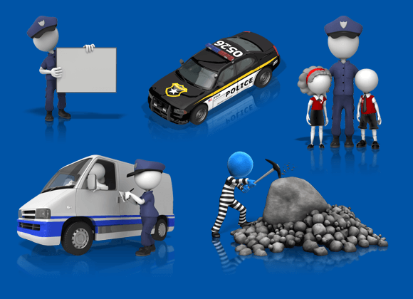 Law enforcement and Police clipart