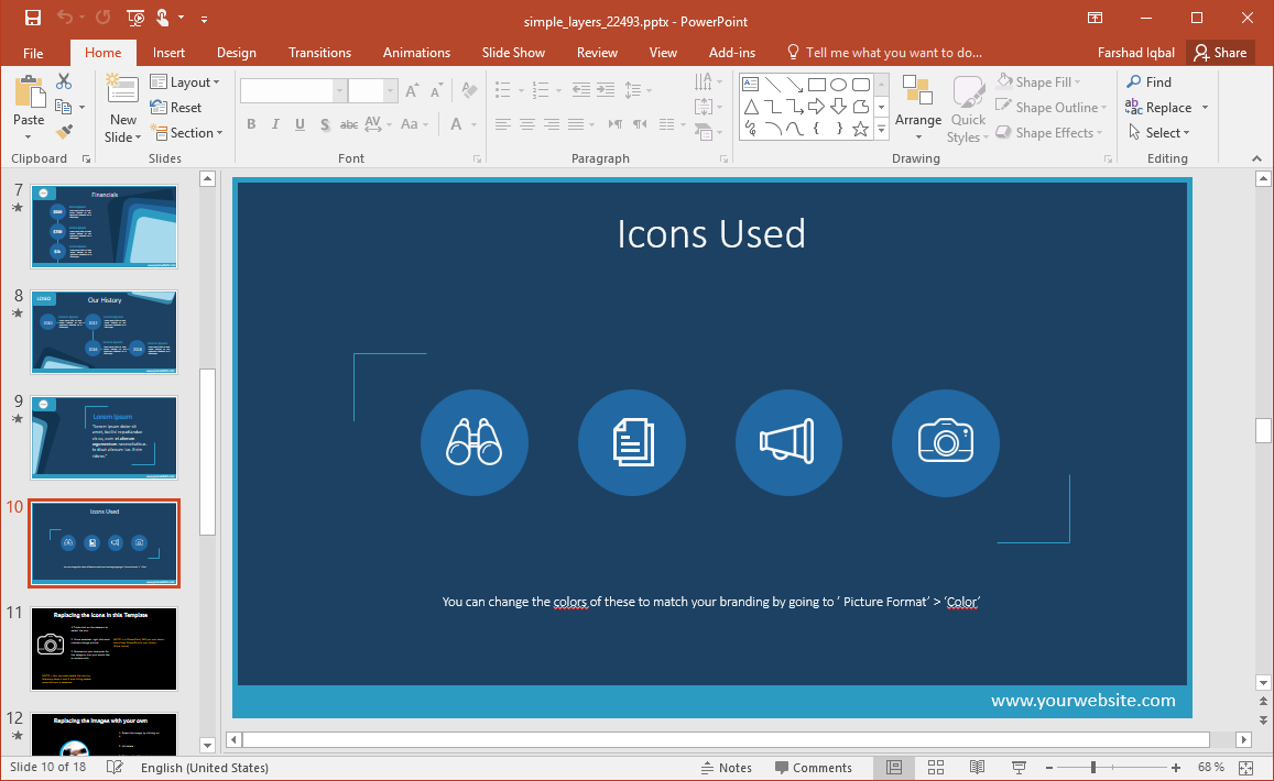 Layer Icons