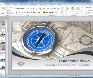 Animated Leadership PowerPoint Presentation Templates