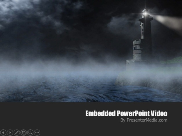 Lighthouse video background template