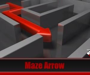 Animated Maze PowerPoint Template