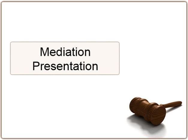 Mediation Presentation