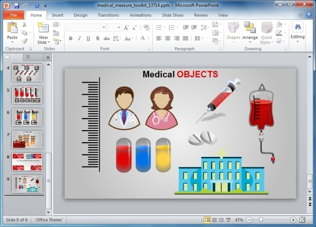 Medical Clipart Slides