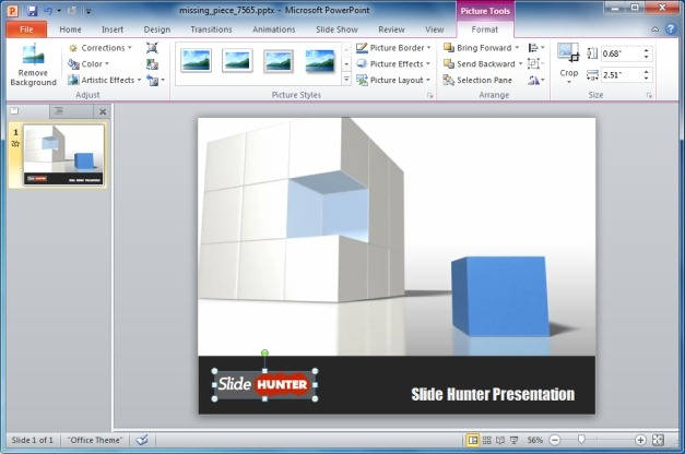 Missing Piece PowerPoint Template