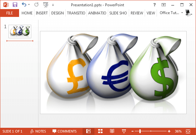 Money Bags clipart collection for PowerPoint