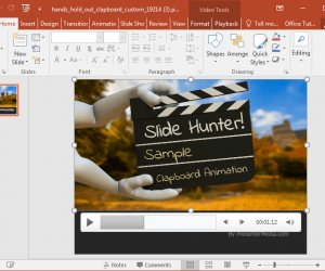 Movie Clapper Animations For PowerPoint
