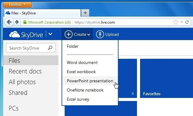 how to use shared files on drive offline