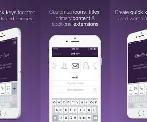 OftenType: Create Custom Keys For Words And Phrases On iPhone And iPad