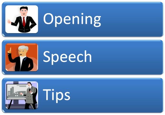 Opening Speech Tips
