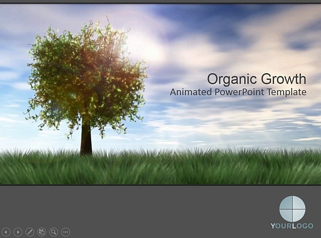 Organic Growth template for PowerPoint