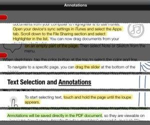 Add Notes And Highlight PDF Files On iPad With PDF Highlighter