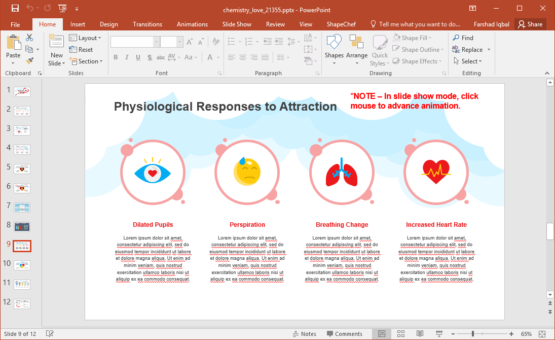 Physiological Responses to Attraction