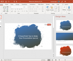 5 PowerPoint Tips to Make Your Presentation Special