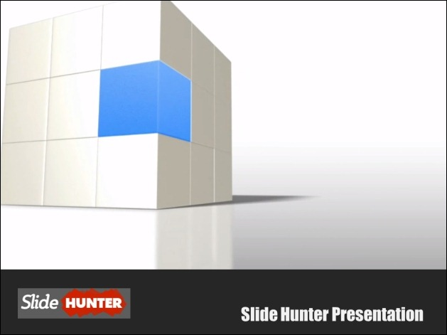 PowerPoint Template With 3D Video Animation