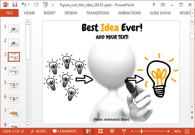 Present your best idea