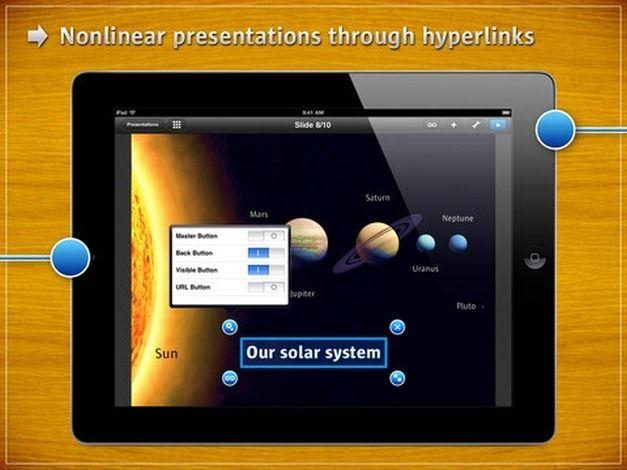 Presentation Link App for iPad