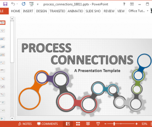 Animated Process Map PowerPoint Template