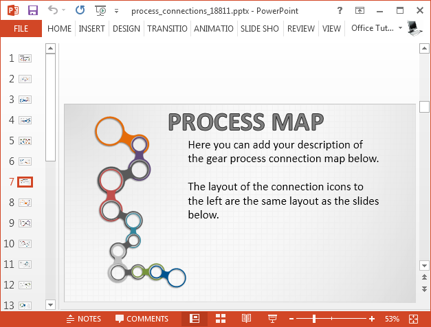 Process map sequence