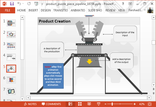Product pipeline process
