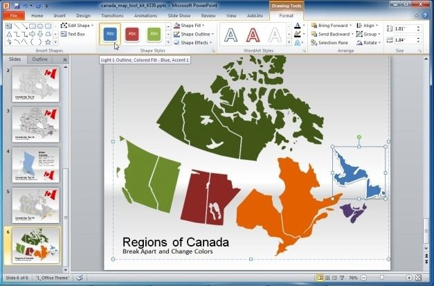 Provinces Of Canada