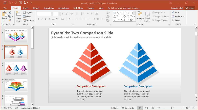 Pyramid Diagrams