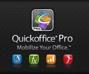 QuickOffice Pro Brings Microsoft Office Support For Android And iPhone