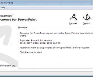How To Recover Corrupt PowerPoint Files