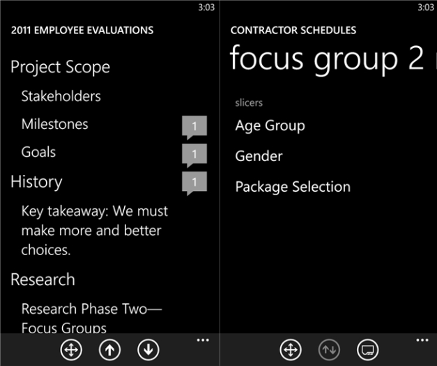 Remotely control MS Office from Windows Phone