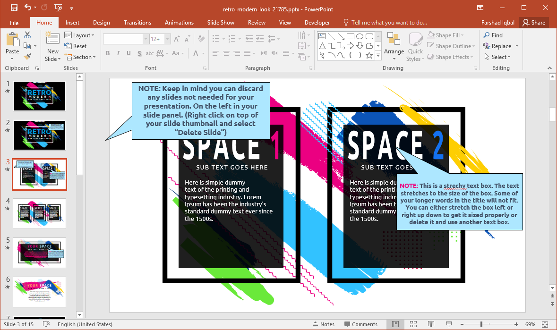 Retro Design for PowerPoint
