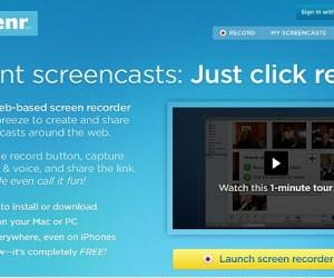 Screenr: Record Your Desktop For Making Video Presentations & Tutorials