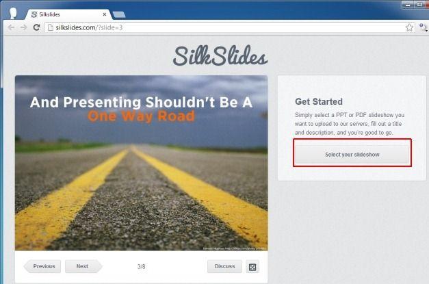 Select Your Slideshow