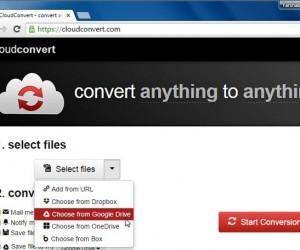 Convert Audio, Video & Office Files Online With Cloud Convert