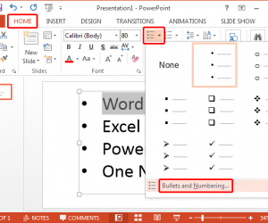 How To Create A Picture Bullet List in PowerPoint
