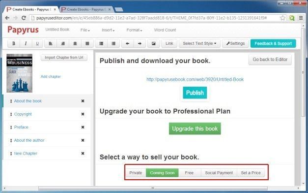 Sell Ebook