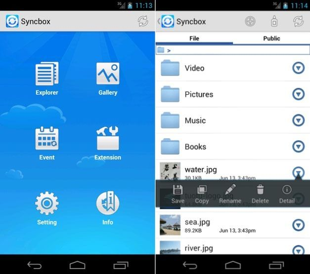 Share Files With Syncbox