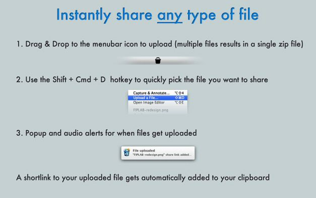 Share Screenshots And Other Types Of Files