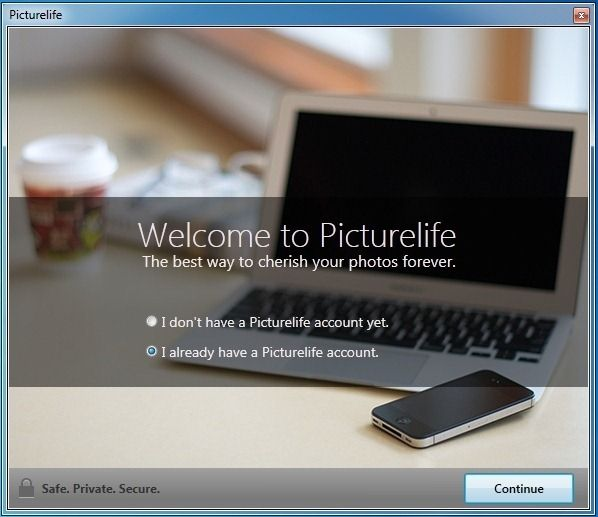 Sign in to Picturelife