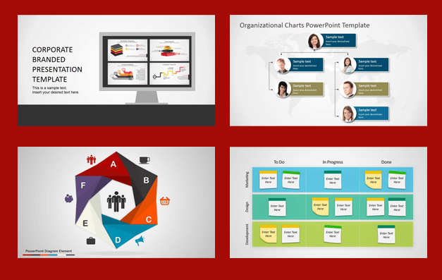 SlideModel business PowerPoint templates
