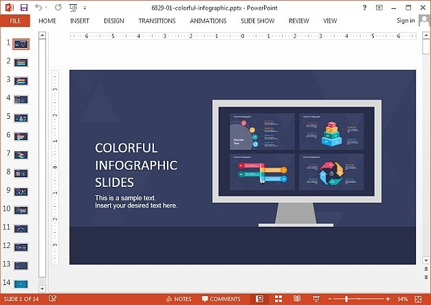 SlideModel infographic templates for PowerPoint