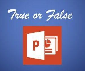 Some PowerPoint Myths