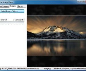 Special Image Player: Create Slideshows With 172 Transition Effects