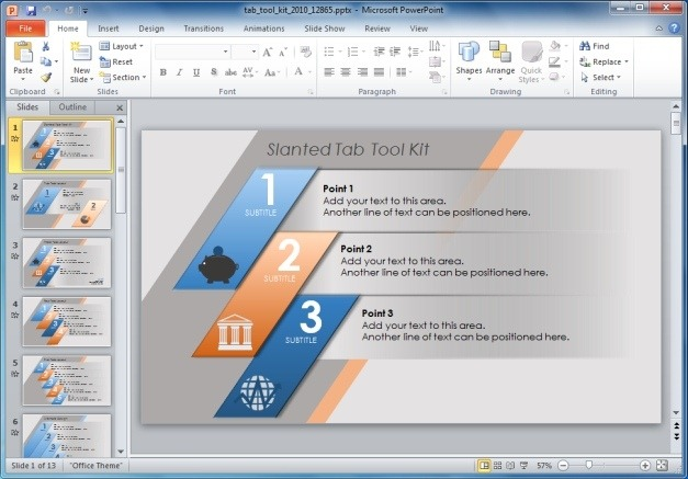 Tab Toolkit For PowerPoint Presentations