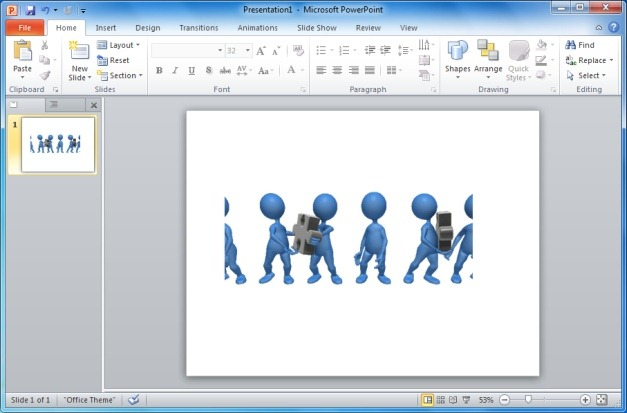 Teamwork Pass Puzzle Pieces Animated Clipart