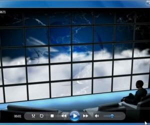 Travel Lounge PowerPoint Video Background Template